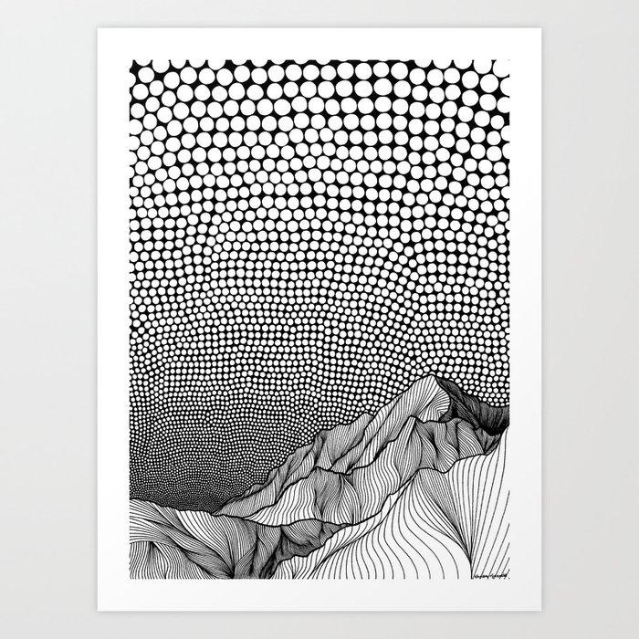 Into Nowhere Art Print