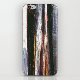 Aged Wood Structure rustic decor iPhone Skin