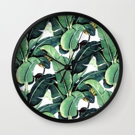 Martinique Print Wall Clock