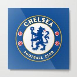 Chelsea F.C. Metal Print