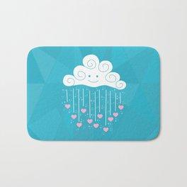 Raining Hearts Bath Mat