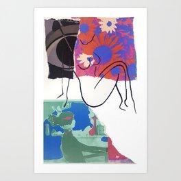 La Maison Mod II Art Print