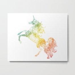 Sparkling Stallion Metal Print