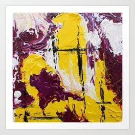Mini Series [Rouge Yellow] Art Print