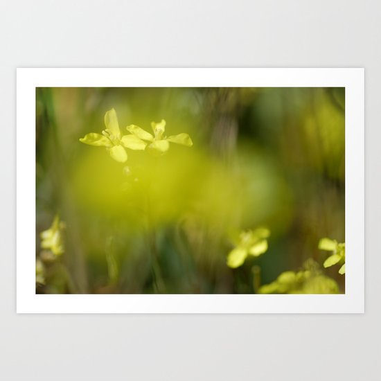 """Yellow dream"" Art Print"