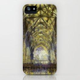 York Minster Van Gogh Style iPhone Case