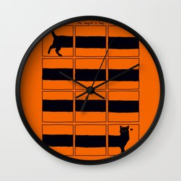 The Longcat is long Wall Clock