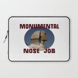 Sphinx Nose Job Laptop Sleeve