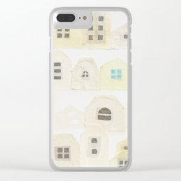 A residential area Clear iPhone Case