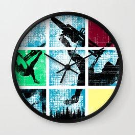 MTB Colors Wall Clock