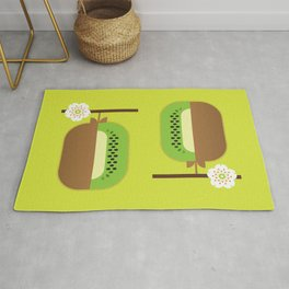 Fruit: Kiwifruit Rug