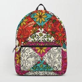 aziza patchwork Backpack