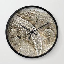 Crocodiles Wall Clock