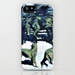 The Call for Help - Digital Remastered Edition iPhone Case