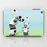 lama iPad Cases featuring Lally Lama by Teodoru Badiu