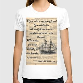 Count of Monte Cristo quote T-shirt