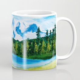 Mt. Rainier Reflections Lake Coffee Mug