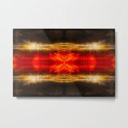 Sedona lights geometry II Metal Print