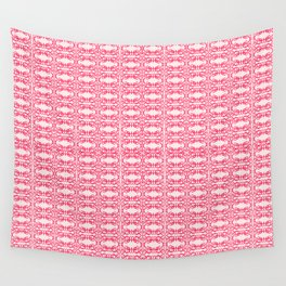 Sweet Valentine of Love and Pink Wall Tapestry