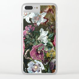 Old Masters Modern Twist Clear iPhone Case