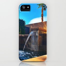Desert Relaxation iPhone Case