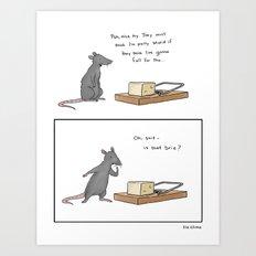 Mousetrap Art Print