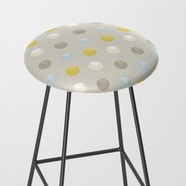Abstract Dots Bar Stool