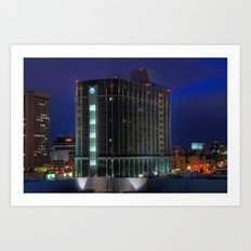 MGM Grand Detroit Art Print