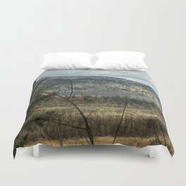 Columbia Gorge View from the Trail Duvet Cover