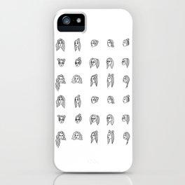 indecisiveness iPhone Case