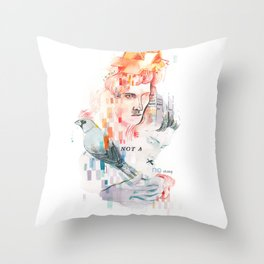 I can't speak your language Throw Pillow