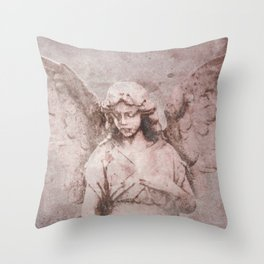A Guardian Angel, To Watch Over Us A322b Throw Pillow