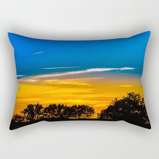 Golden Touch Rectangular Pillow
