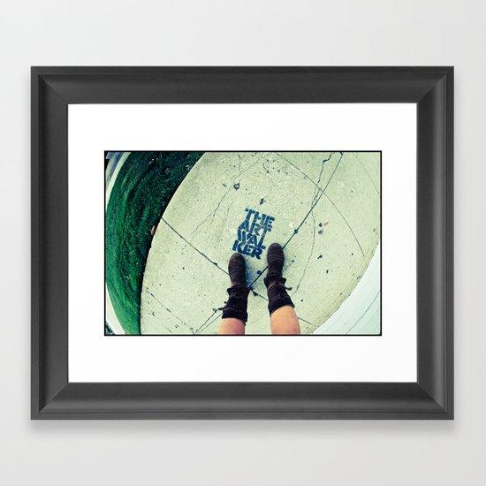 Art Walker Framed Art Print