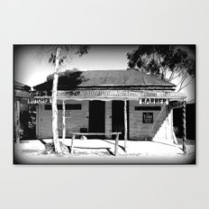 Butcher or Barber Canvas Print