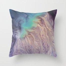 Colour Storm Illusion Throw Pillow