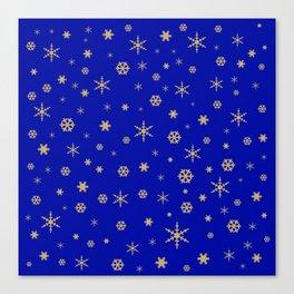 Merry Christmas pattern 2 Canvas Print