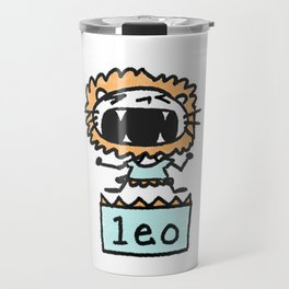 Rawwrrrr! says the Leo. Travel Mug