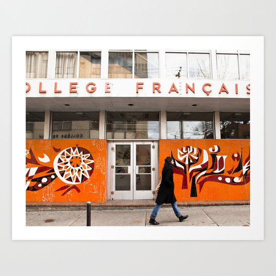 Collège Français Art Print