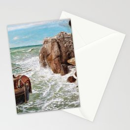 Odysseus And Polyphemus - Arnold Bocklin Stationery Cards