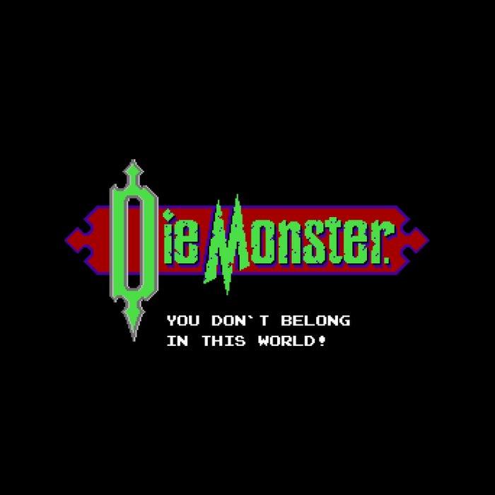 Castlevania - Die Monster. You Don't Belong In This World! Duvet Cover