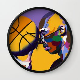 One With The Game Wall Clock