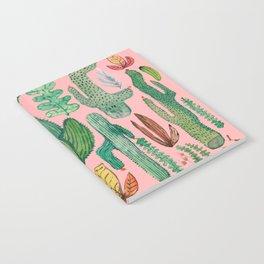 natural garden pink Notebook