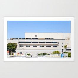 Rhythm on Building Art Print