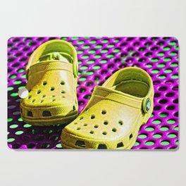 Pop Art Crocs By Sharon Cummings Cutting Board