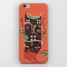 Power Trio iPhone Skin