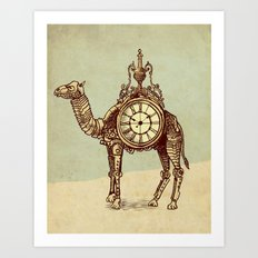 Desert Time Art Print