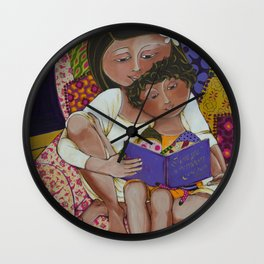 """Love You To The Moon And Back"" Wall Clock"