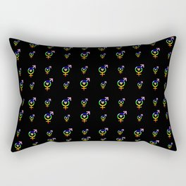 Symbol of Transgender 51 Rectangular Pillow