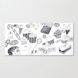 Süßigkeiten Canvas Print